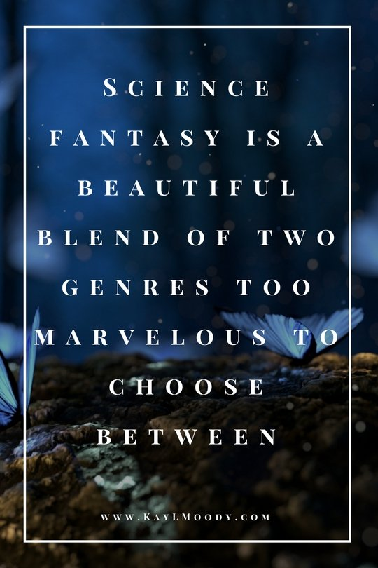 Science fantasy is a beautiful blend of two genres too marvelous to choose between. Click to learn more about science fantasy.
