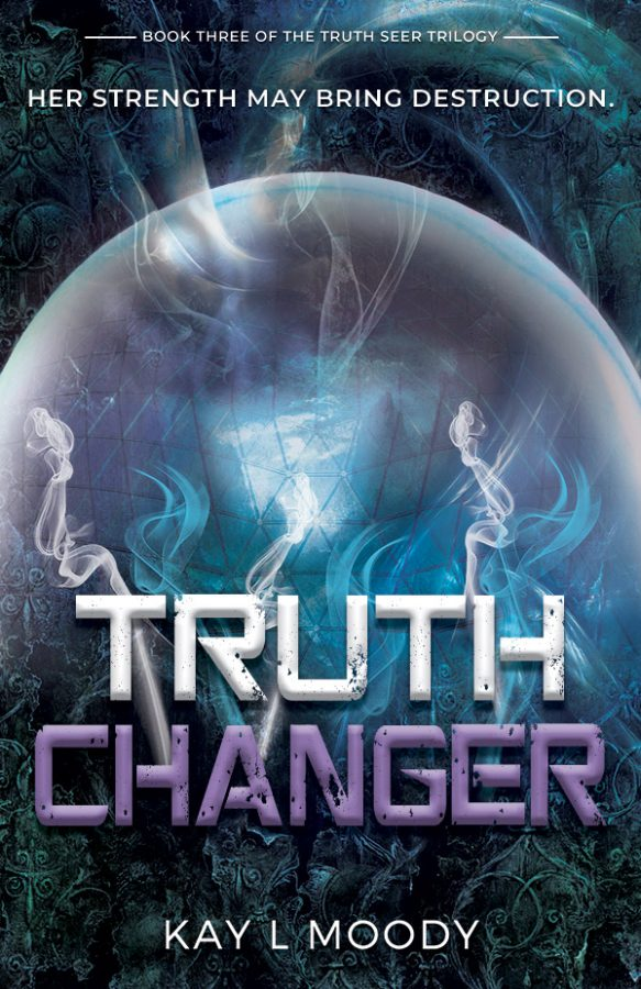 Truth Seer by Kay L Moody. Check out the exciting conclusion to the Truth Seer Trilogy featuring a strong female lead, cool technology, and a dash of romance.