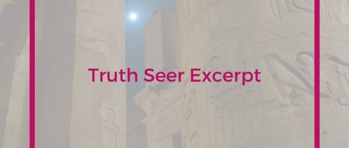 Excerpt from Truth Seer, a soft science fiction book with strong female lead. Join Imara as she enters the catacombs of Alexandria and experiences the adventure of a lifetime.