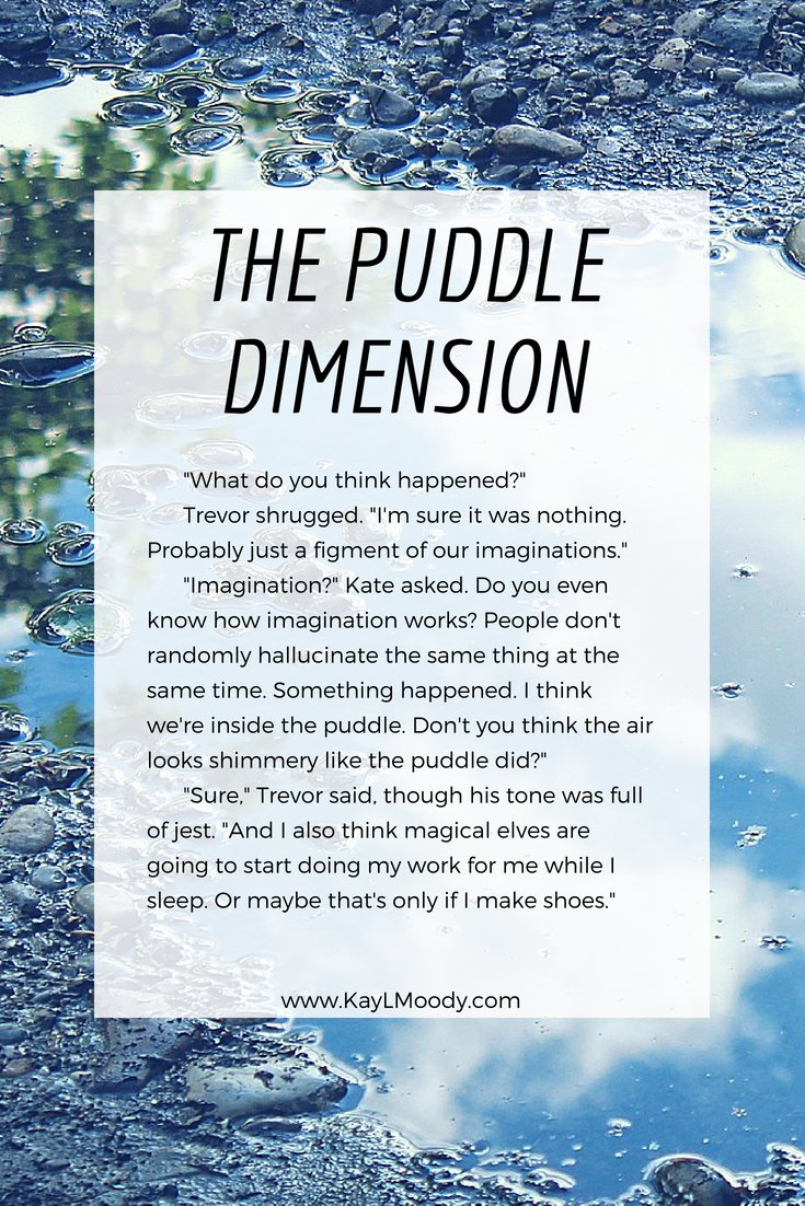 How far would you go to solve a mystery? Click through for this FREE sci fi short story, The Puddle Dimension.