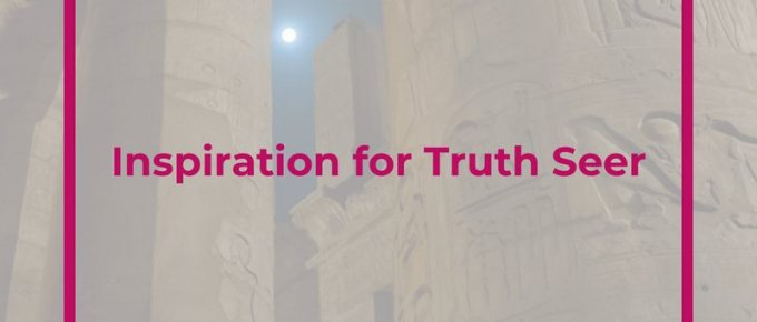 Want to learn more about the newest YA sci fi book, Truth Seer? Click through to learn about the inspiration, setting, and more!