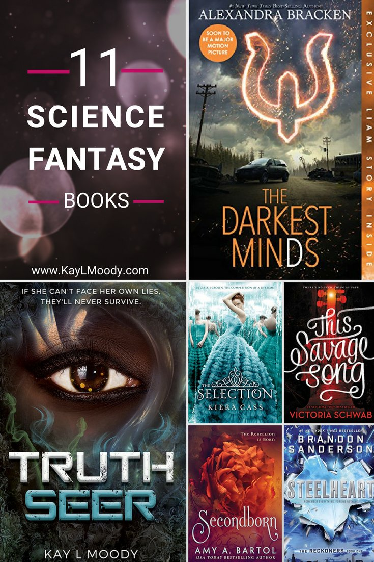 Love science fantasy? Get your fix with these eleven science fantasy books. Click through for the whole list!