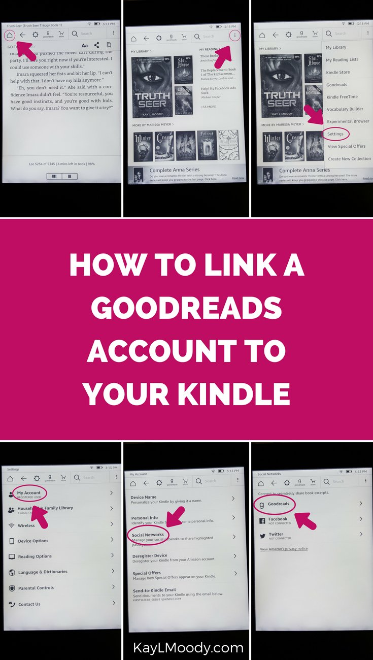 Have a kindle? Have a goodreads account? Need to get those two together for the maximum book reading experience? If so, click through for everything you need to know about a goodreads kindle integration.