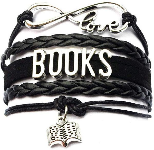 The best gifts for book lovers this Christmas season, including a reading themed bracelet!