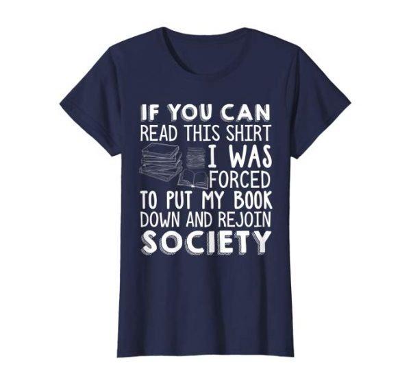 The best gifts for book lovers this Christmas season, including a book themed t-shirt!