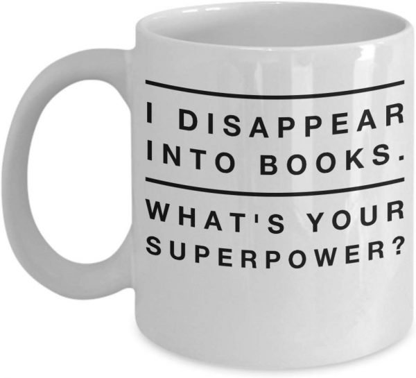 The best gifts for book lovers this Christmas season, including a book themed mug!