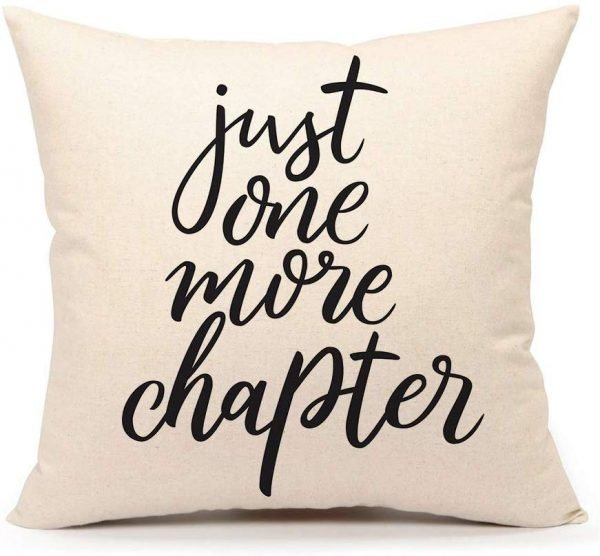 The best gifts for book lovers this Christmas season, including a book themed pillow!