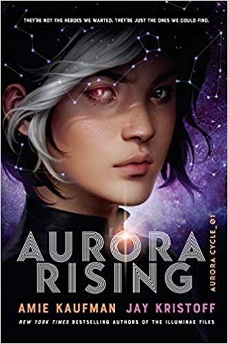 Creative and exciting futuristic books for young adults including Aurora Rising!