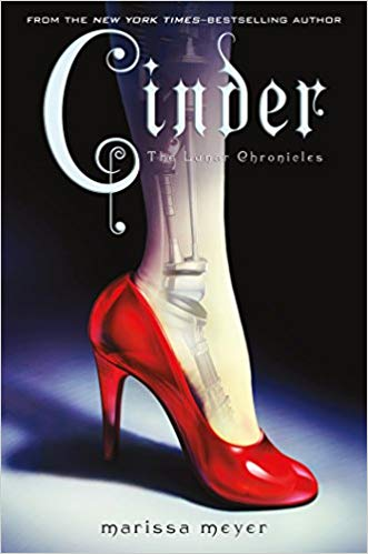 Creative futuristic books for young adults, including Cinder!