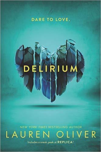 Creative futuristic young adult books, including Delirium!