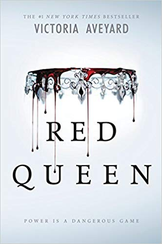 Exciting dystopian fantasy books including Red Queen!