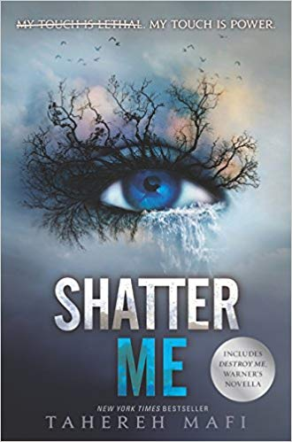 Exciting futuristic young adult books, including Shatter Me!