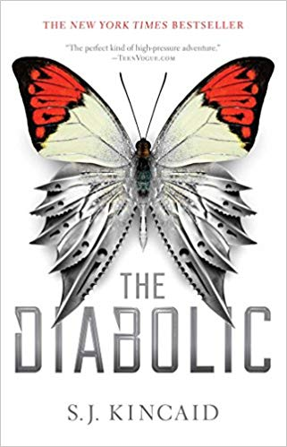 Exciting futuristic young adult books, including the Diabolic!