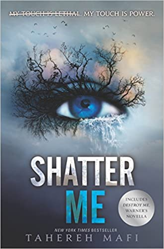 Exciting dystopian fantasy books including Shatter Me!