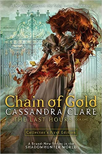 Fantasy reads for teenage girls, including Chain of Gold by Cassandra Clare