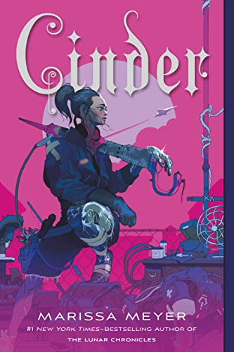 Our favorite YA fantasy reads with romantic storylines, including Cinder by Marissa Meyer!