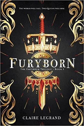 Crown themed fantasy books including Furyborn!