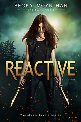 Our favorite fantasy reads with romantic storylines, including Reactive by Becky Moynihan
