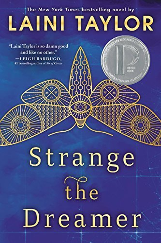 Our favorite YA fantasy reads with romantic storylines, including Strange the Dreamer by Laini Taylor!