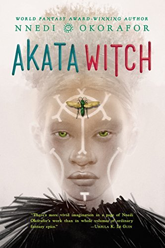 Akata Witch is one of many fantasy books for teens that we love!