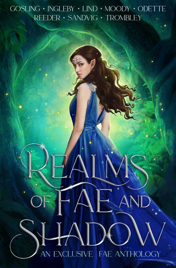Realms of Fae and Shadow: An Exclusive Fae Anthology featuring EIGHT fae stories. This anthology includes Heir of Bitter Thorn by Kay L Moody.