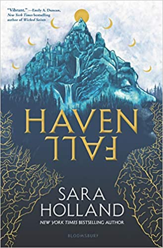 Exciting teenage fantasy books, including Havenfall by Sara Holland!