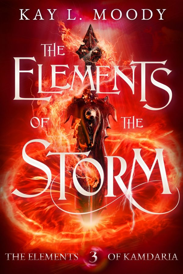 The Elements of the Storm by Kay L. Moody. This is the 3rd and final book in The Elements of Kamdaria.
