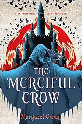 YA fantasy books including The Merciful Crow by Margaret Owen!