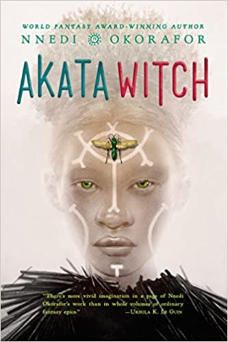 Exciting Young Adult fantasy books to read, including Akata Witch!