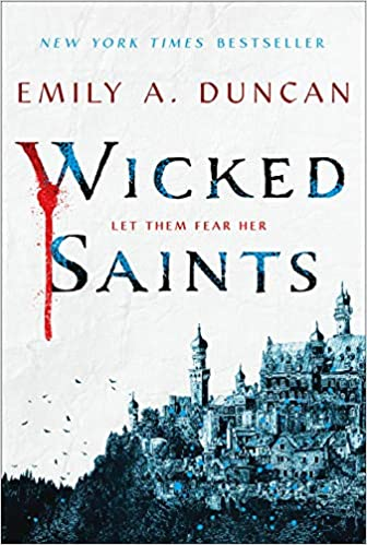 Teen YA fantasy books to read before summer, including Wicked Saints by Emily Duncan!