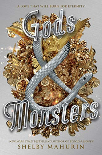 2021 fantasy ya releases we are excited for including Gods & Monsters by Shelby Mahurin!