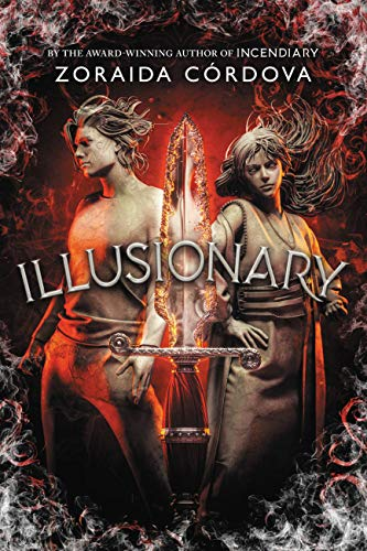 2021 fantasy ya releases we are excited for including Illusionary by Zoraida Cordova!