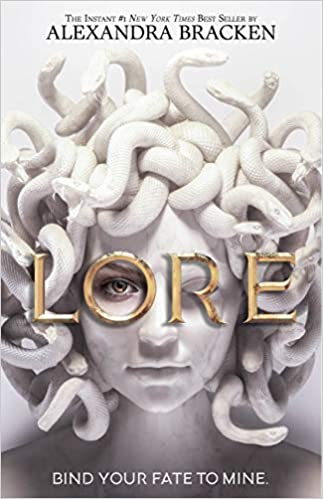 2021 fantasy ya releases we are excited for including Lore by Alexandra Bracken!