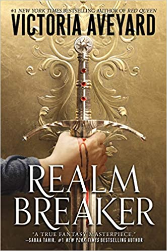 Fantasy YA 2021 releases including Realm Breaker by Victoria Aveyard.